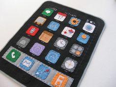 iPad Felt Case by Latelier de Luluu #Etsy
