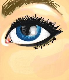 #Eye #Colorized #Sketch by Franky T.