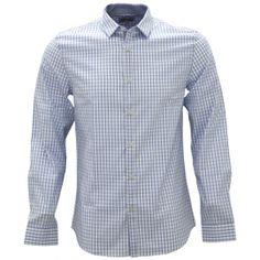 Shirtacy Blue Check White Oxford Shirt by Shirtacy HKD$249 #formalshirts #businessattire #workshirt #mensfashion #menswear #hk #hongkong #onlinestore #onlineshopping #hkshop #stylish #oxford #oxfordshirt #check #shirtacy
