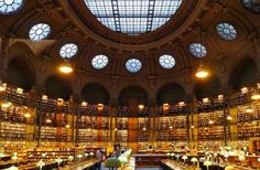 World's Most Stunning Libraries: Bibliotheque Nationale De France, Site Richelieu
