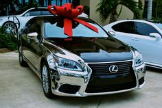 Custom chrome 2013 Lexus LS 460 Oh yes, just send it on over!!! <3
