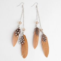 Whenever Feather Earrings
