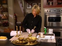 Learn how to properly care for and polish your brass candlesticks.