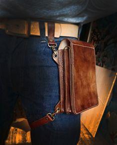 Сумка-планшет из кожи кожа, сделай сам, Leather, leathercraft, своимируками…