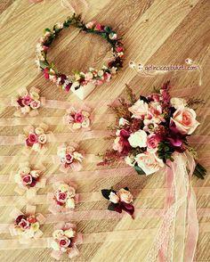 Handmade Flowers, Diy Flowers, Paper Flowers, Floral Wedding, Wedding Bouquets, Wedding Flowers, Wedding Gifts, Our Wedding, Dream Wedding