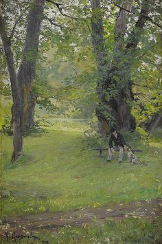 Gottfrid Kallstenius (1861-1943) Swedish Painter