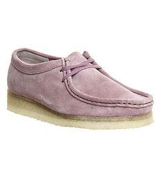 Clarks Originals Wallabee Shoes Vintage Pink Suede - Flats
