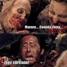 ¡Dejen de decirle chino! | 19 Imágenes que harán reír a todo fan de The Walking Dead