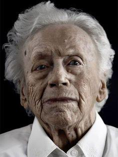 Portraits of Happy Centenarians by Karsten Thormaehlen
