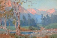 Southern California Landscape by Marion Kavanagh Wachtel, California Art Club