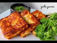 Garlic paneer recipe is one of my favorite recipes.It can be prepared with very less effort and in less time.both text and video versions of the recipe . Paneer Snacks, Paneer Dishes, Paneer Recipes, Veg Recipes, Indian Food Recipes, Vegetarian Recipes, Snack Recipes, Cooking Recipes, Yummy Recipes