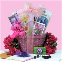 The 49 best easter ideas images on pinterest easter baskets 10 13 year old girls easter basket made for them negle Image collections