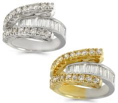 Fashion Diamond Channel Ring - 1.45 ctw.