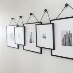 Black and White Frames   Gallery Wall by Lexi Westergard Design