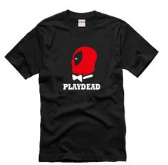 Free Shipping, Hot Smart Short sleeve Cotton T  Shirt of Movie & Teleplay    Deadpool PLAYDEAD-in T-Shirts from Men's Clothing & Accessories on Aliexpress.com | Alibaba Group