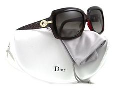 Christian Dior Women's My Ladydior6 Brown On Red Frame/Brown Gradient Lens Plastic Sunglasses Christian Dior. $209.00. Save 46% Off!