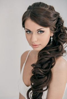 We've already told you of short bridal hair ideas, now it's your time, ladies with beautiful long locks! Having long hair is perfect as you can create lots and lots of various hairstyles...