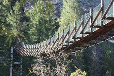 Swinging Bridge near Libby, Montana-6818574016