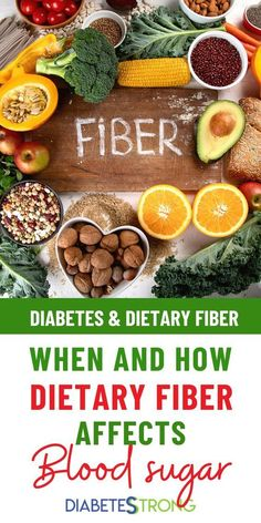 Diabetes & Dietary Fiber: When and How it Affects Blood Sugar Diabetes Diet, Grain Foods, Base Foods, Blood Sugar After Eating, Healthy Bowel Movement, Diet Recipes, Healthy Recipes