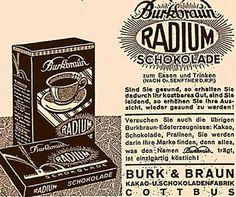 Radium Chocolate?