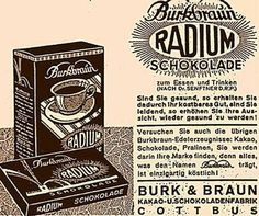 Radium Chocolate?