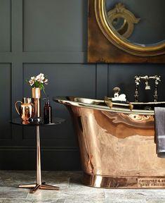 Bathroom Trends 2019 / 2020 – Designs, Colors and Tile Ideas - InteriorZine - Salle de Bains 01 Bad Inspiration, Decoration Inspiration, Bathroom Inspiration, Decor Ideas, Decorating Ideas, Decorating Websites, Bathroom Trends, Bathroom Interior, Bathroom Ideas