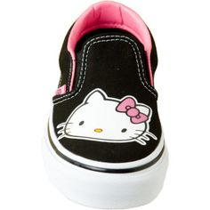 OMG I love these Hello Kitty Vans! Can a 40 year old get away with wearing them?? Probably not :(