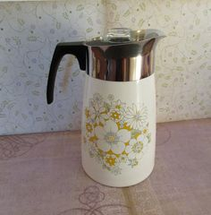 Vintage Corning Ware 9 Cup Stove Top by GoldenHopeVintage on Etsy