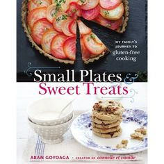 small plates and sweet treats from aran goyoga