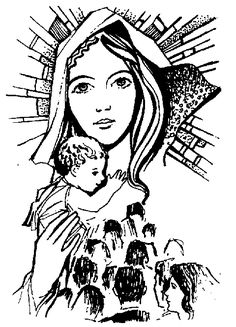 1000 Images About Our Blessed Mother On Pinterest