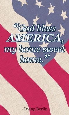 #AmericaTheBeautiful - Home Sweet Home - MilitaryAvenue.com