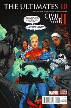 Preview: The Ultimates #10, Story: Al Ewing Art: Kenneth Rocafort Cover: Kenneth Rocafort Publisher: Marvel Publication Date: August 17th, 2016 Price: $3.99 CIV..., #AlEwing #All-Comic #All-ComicPreviews #Comics #KennethRocafort #Marvel #previews #TheUltimates