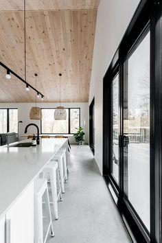 Minimalist House Design, Minimalist Home Interior, Modern Interior Design, Scandinavian Cottage, Design Your Dream House, Cottage Interiors, New Homes, Home Decor, Dream Homes