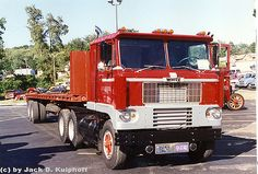 White 7000 cabover | by jackdk