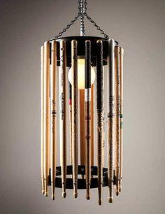 Open Drum Stick Chandelier Pendant & Chandelier Lighting