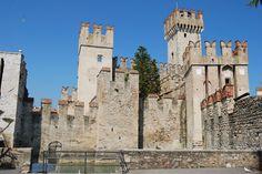 Sirmione, Lake Garda,  Scalinger Castle