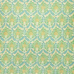 Fabric swatch of a printed wool fabric in blue and green colours with an abstract design, suitable for curtains and upholstery Linwood Fabrics, Green Colors, Colours, Persian Motifs, Contemporary Fabric, Textile Patterns, Textiles, Fabric Wallpaper, Wool Fabric