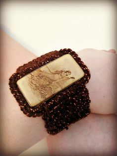 Mermaid Bracelet  Handcrafted Mermaid Crochet by ConstantlyAlice on Etsy