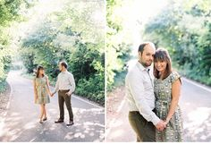 Engagement shoot, Orla Kiely dress, Fuji 400h, Contax 645, film photography, pre wedding shoot