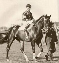 A Tribute to Phar Lap in those days some old time trainers used to put a touch of arsenic in their feeds to help there horses perform better, and in the end that is what he died of.