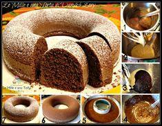 CIAMBELLA FONDENTE MORBIDISSIMA – Le Mille Ricette Biscotti, Doughnut, Desserts, Muffin, Cupcakes, Food, Tailgate Desserts, Deserts, Cupcake