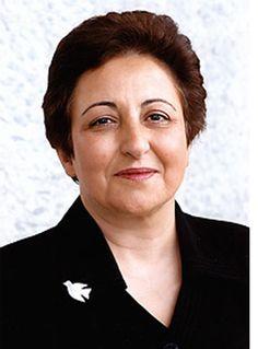 Shirin Ebadi  Iranian Women's Activist  I heard her speak at Notre Dame.   Google Image Result for http://4.bp.blogspot.com/-ko2sYU4aYc0/TbmApzTESDI/AAAAAAAABUw/uTXL2aay124/s1600/shirin.jpg