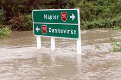 A thunderstorm yesterday overflowed the local stream banks, causing a flash flood down the main street of Ongaonga. Examples Of Climate Change, Thunderstorms, The Locals, New Zealand, Paradise, News, Lightning Storms, Storms