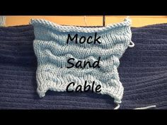 Mock Sand Cable - YouTube