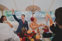 Glamping Resort Wedding up on Green Wedding Shoes! // Casa de Perrin