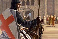 Crusader in Jerusalem
