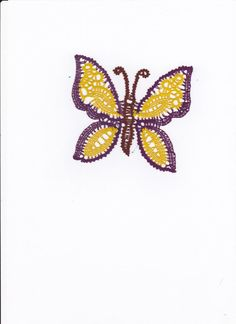 wonderful colorful butterfly to be applied on curtains, pillows, lamps
