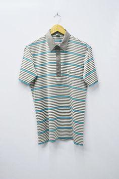 0fcad2dbda Wimbledon Shirt Wimbledon Tennis Collection Polo Shirt Vintage Wimbledon  Mens Size L Wimbledon Renown Vintage Stripe Polo Shirt