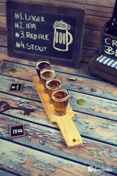 Hard to believe, but there are nearly craft breweries in America! From Washington to North Carolina we've discovered the best beer towns for thirsty travelers. Beer Pairing, Beer Brewery, Beer Bar, Travel Deals, Expedia Travel, Travel Planner, Beer Company, Pub Crawl, Wine And Beer