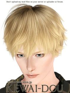 Toddler Hair The Sims3 Male Hair Female Hair Child Hair  by KEWAI DOU
